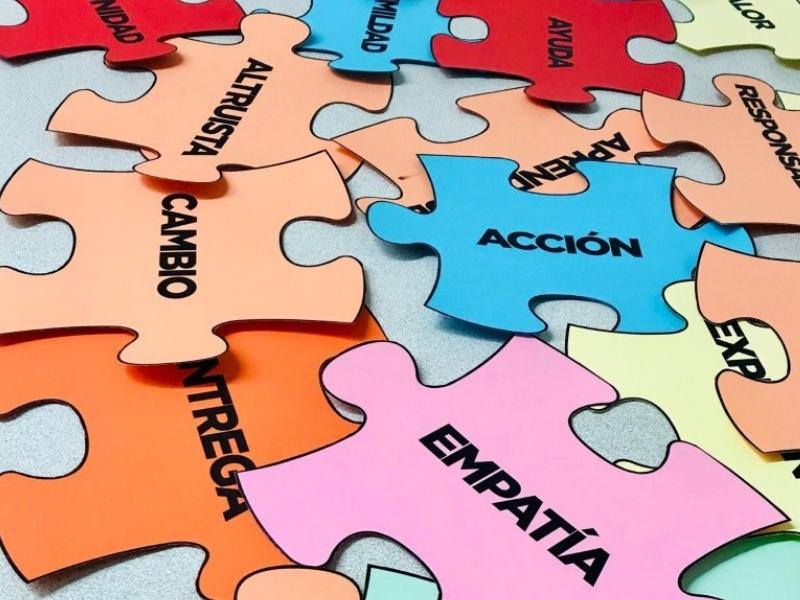 puzzle voluntariado